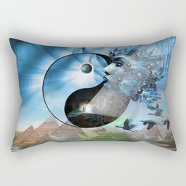 We are Symbols of Light Rectangular Pillow