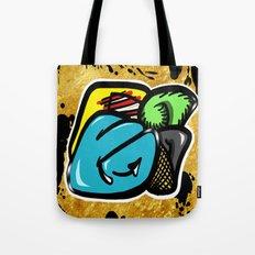 Digital Abstract Graffiti #1 Tote Bag