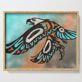 Eagle - Native American Art - Tribal Art Serving Tray