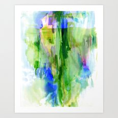 Gulfoss Art Print