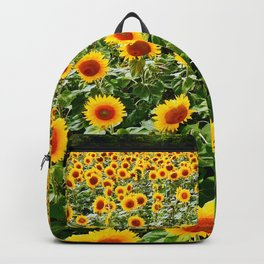 Field of Sunny Flowers Backpack