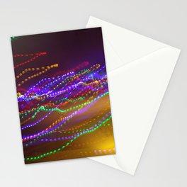 Dizzy Lights Stationery Cards