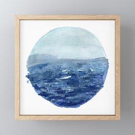 Around the Ocean Framed Mini Art Print