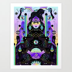 After Midnight Art Print