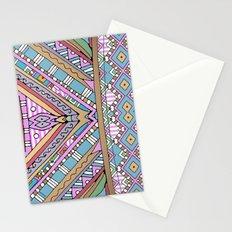 Sweet Funky Retro Mandala Stationery Cards