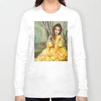 belle Long Sleeve T-shirts featuring Belle by MartaDeWinter
