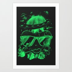 Hipster Invasion Art Print