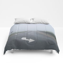 Fogged In/Wrong Way Comforters