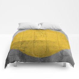 Modern Geometric III Comforters