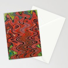 391 - Abstract Colour Design Stationery Cards