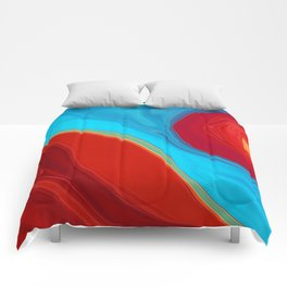 The Convergence of Fire and Water Comforters