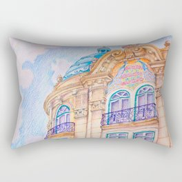 art nouveau Rectangular Pillow
