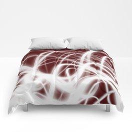 Red Flow2 Comforters