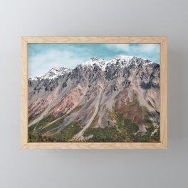 Painted Mountains of Alaska Framed Mini Art Print