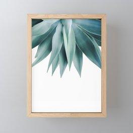 Agave fringe Framed Mini Art Print