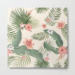 Tropical Nature Metal Print