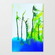 Tres Palmas Canvas Print