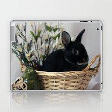 Bunny Basket Laptop & iPad Skin