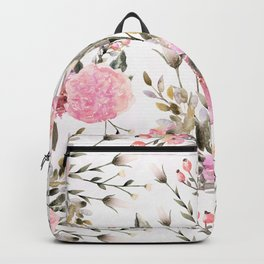 Roses and Wildflowers  Backpack