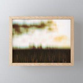 Walk Through The Unknown Framed Mini Art Print
