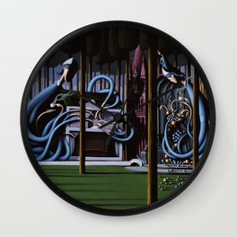 The Gateway to Her Wall Clock