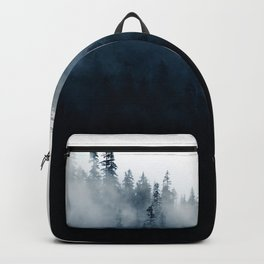 Foggy Mountain Forest (Color) Backpack