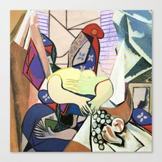 Mixed Picasso · 4 Canvas Print