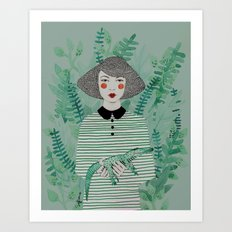 Jen Art Print