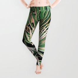 Palms #nature #painting Leggings