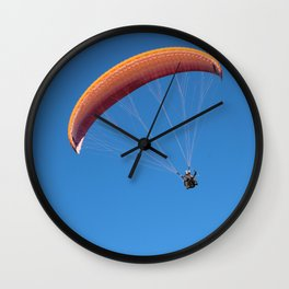 French Alps 4 Wall Clock