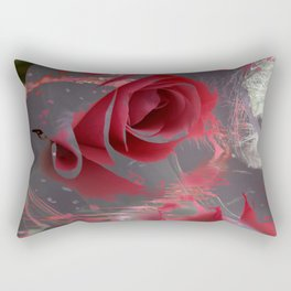 The Pink Flowers of That Majestic Dream! Rectangular Pillow