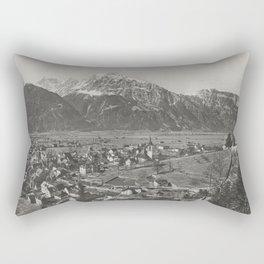 Old Swiss Village Rectangular Pillow