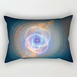 Cat's Eye Nebula Poster Rectangular Pillow
