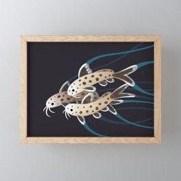 Leopard catfish Framed Mini Art Print