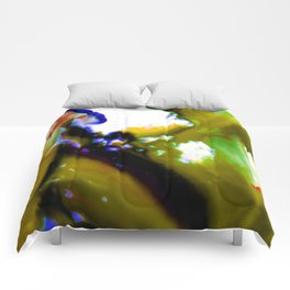 Abstract Bliss 3C by Kathy Morton Stanion Comforters
