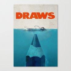 DRAWS Canvas Print