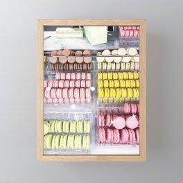 Paris Laduree French Macarons Framed Mini Art Print