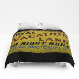 Staycation Comforters