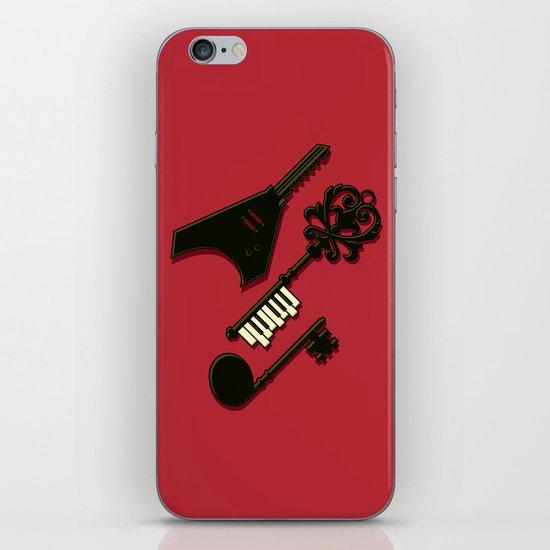 keys of musical iPhone & iPod Skin