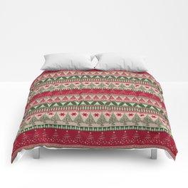 Pine Tree Ugly Sweater Comforters