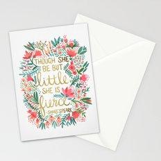 Little & Fierce Stationery Cards