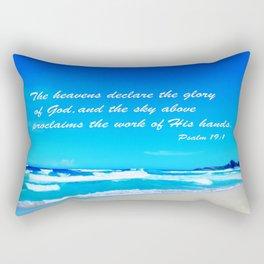 Psalm 19 Rectangular Pillow