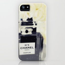 Black and White Coco iPhone Case