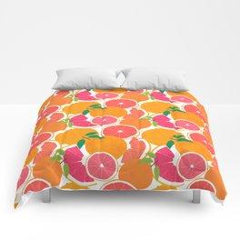 Grapefruit Harvest Comforters