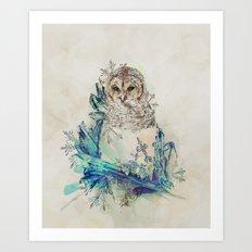 Night Frost Art Print