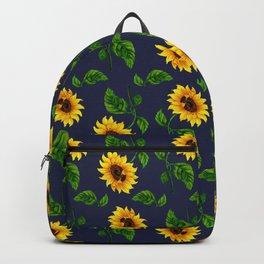 Summer Spring Sunflower Backpack