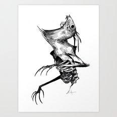 The Wendigo Art Print