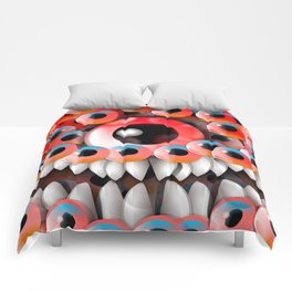 Eyeball Monster Comforters