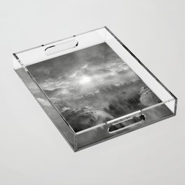 B&W - Wish You Were Here (Chapter I) Acrylic Tray