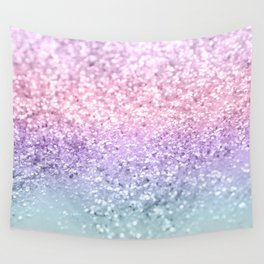 Unicorn Girls Glitter #1 #shiny #pastel #decor #art #society6 Wall Tapestry
